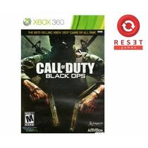 Call Of Duty Black Ops Xbox 360 Original Semi-novo