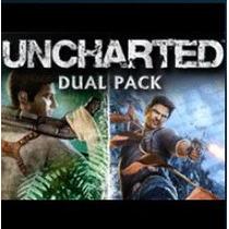 Uncharted Greatest Hits Dual Pack Ps3 Jogos Codigo Psn