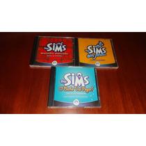 3 Expansões The Sims Originais + Brindes - Leia Descrição