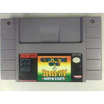Mario All Stars + Mario World Original Super Nintendo