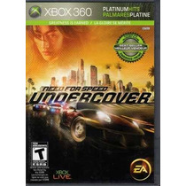 Need For Speed Undercover - Planium Hits - Jogo P/ Xbox 360!