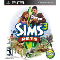 The Sims 3 Pets Ps3 - Novo - Lacrado - Pronta Entrega