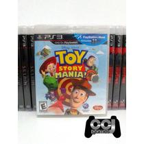 Toy Story Mania - Ps3 - Ps Move - Novo - Lacrado - Promoção