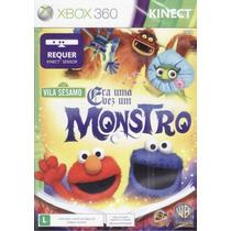 Xbox360: Era Uma Vez Um Monstro - Jogo Original Novo