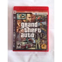 Jogo Grand Theft Auto Iv - Gta 4 Greatest Hits - Ps3