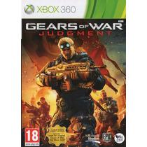 Gears Of War Judgement+ Gears Of War 1 Jogo Xbox 360 Lacrado