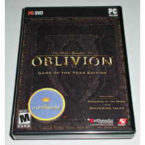 Oblivion Game Of The Year Edition | Jogo Pc | Original