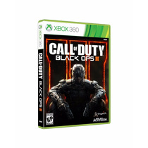 Call Of Duty Black Ops 3 Iii Xbox 360 Mídia Física Original