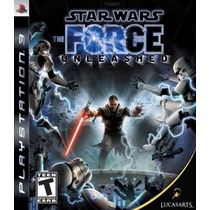 Game Star Wars: The Force Unleashed- Playstation 3