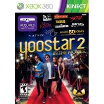 Yoostar 2 In The Movies Jogo Xbox 360 Original Lacrado X360