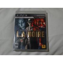 L.a. Noire - Ps3 - Lacrado
