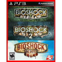 Bioshock Trilogy - Bioshock 1, 2 E Infinity Ps3 Psn Promocao
