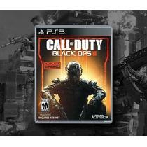Call Of Duty - Black Ops 3 Ps3 Mídia Fisica, Novo Lacrado.