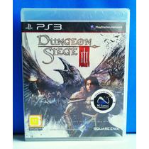 Jogo Dungeon Siege 3 - Playstation 3 - Lacrado