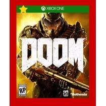 Doom Xbox One - Mídia Digital - Pré Venda Envio Imediato