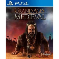 Grand Ages: Medieval Ps4 Secundária Mg!!!