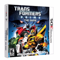 Transformers Prime: The Game Pronta Entrega Nintendo 3ds