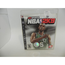 Game Ps3 - Nba 2k9 - Semi Novo - Original