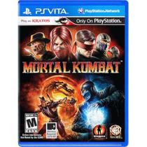 Mortal Kombat Ps Vita Americano Novo Lacrado Frete Grátisgra