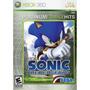 Jogo Novo Lacrado Sonic The Hedgehog Para Xbox 360