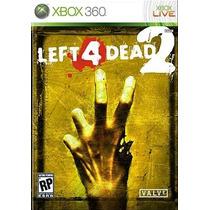 Jogo Novo Lacrado Left 4 Dead 2 L4d2 Para Xbox 360