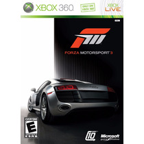 Jogo Forza Motorsport 3 Xbox 360