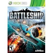 Jogo Xbox 360 Battleship Novo Lacrado Mídia Física