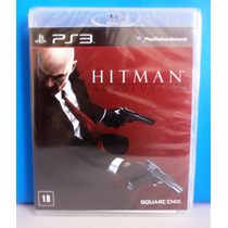 Jogo Tiro - Hitman Absolution - Playstation 3 - Lacrado Novo