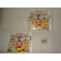 Nintendo 3ds - Super Monkey Ball 3d