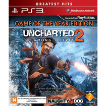 Uncharted 2 Among Thieves Ps3 Jogo Novo Original Lacrado