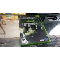The Incredible Hulk Xbox 1ª Geração Seminovo Europeu (pal)