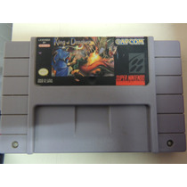 Fita Snes King Of Dragons Original Cartucho Super Nintendo