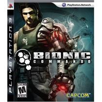 Bionic Commando - Ps3 Original!
