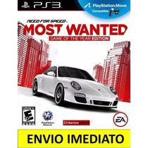 Jogo Need For Speed Most Wanted Ps3 Psn Digital Promoção