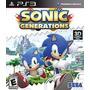 Sonic Generations Ps3 Psn (leia A Descrição)