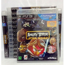 Angry Birds Star Wars Ps3 Novo E Lacrado Rcr Games