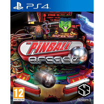 Jogo Novo Lacrado The Pinball Arcade Para Playstation 4 Ps4