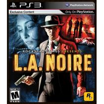 L.a. Noire La Noire Ps3 - Lacrado!