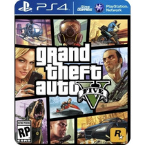 Grand Theft Auto V Gta 5 - Ps4 Código Psn - Riogames