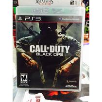 Jogo Call Of Duty Black Ops Playstation 3, Novo, Lacrado