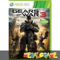 Gears Of War 3 - Jogo De Xbox 360 Usado