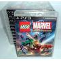 Lego Marvel Super Heroes Ps3 Português Lacrado Rcr Games