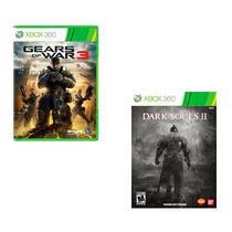 Combo Dark Souls 2 + Gears Of Wars 3 - Xbox 360