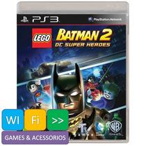 Lego Batman 2 Ps3 Dc Super Heroes Com Legendas Em Português