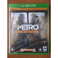 Metro Redux - Xbox One (midia Fisica/original/novo/lacrado)