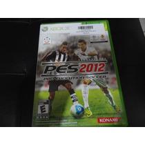 Jogo Para Xbox Pes 2012