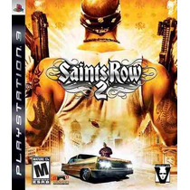 Jogo Playstation 3 Saints Row 2 Ps3