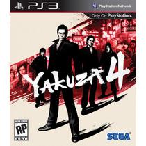 Jogo Yakuza 4 - Ps3 Sega