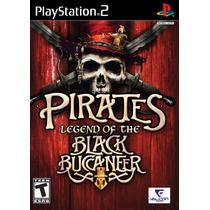 Jogo Pirates Legend Of The Black Buccaneer Ps2 Original