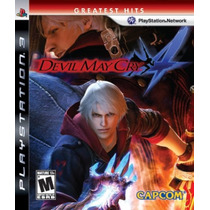 Devil May Cry 4 - Ps3 - Americano Lacrado De Fábrica